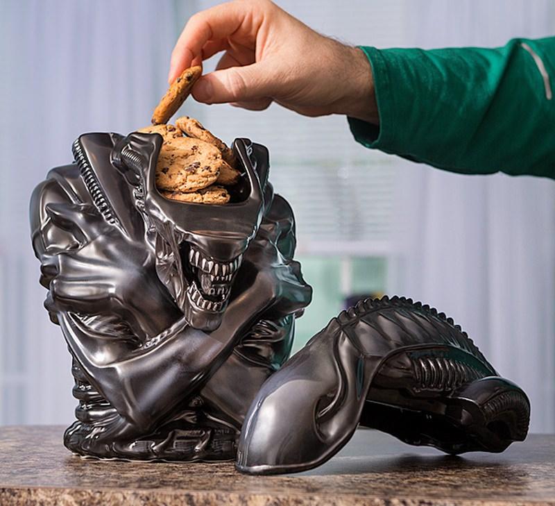 Alien Warrior Cookie Jar