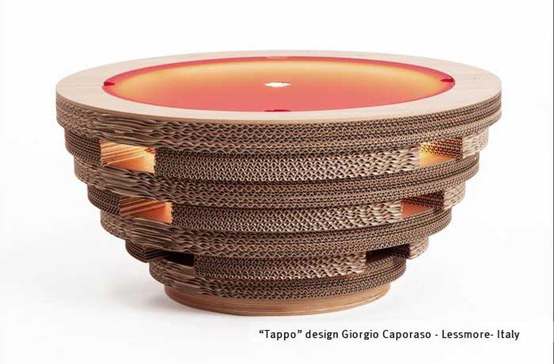 Cap Coffee Table by Giorgio Caporaso