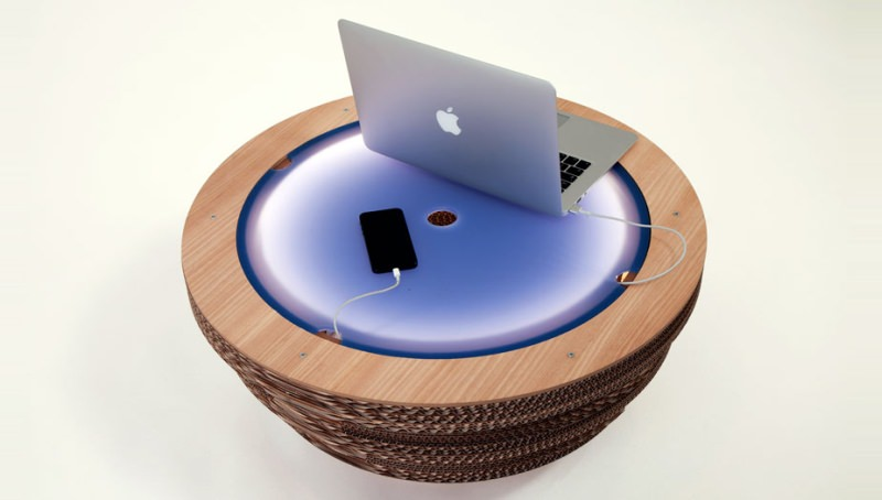 Cap Coffee Table by Giorgio Caporaso
