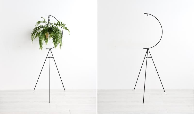 Crescent Plant Stand