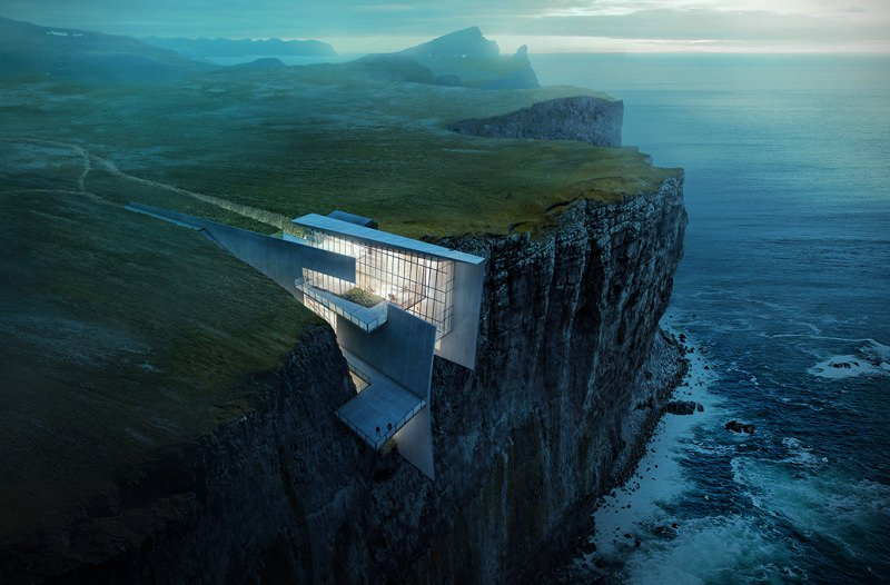 Iceland Cliffside Retreat