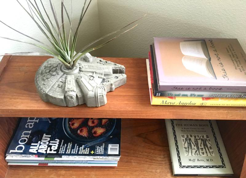 Star Wars concrete Planter