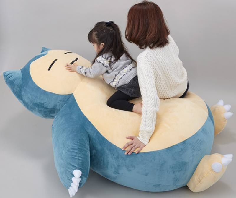 Snorlax Pokémon bed