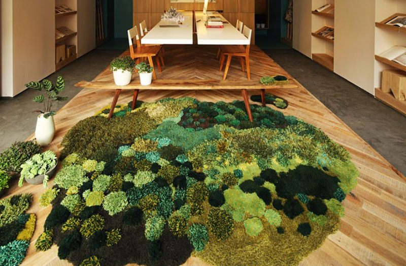 Wool Rugs by Alexandra Kehayoglou