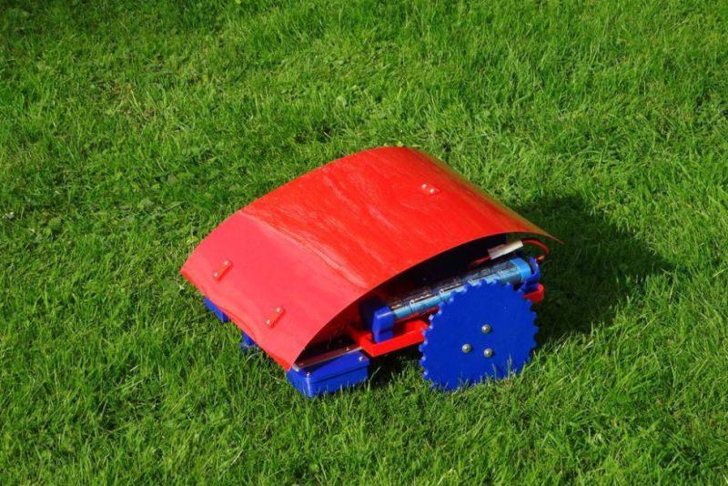Ardumower 3D printed lawn mower