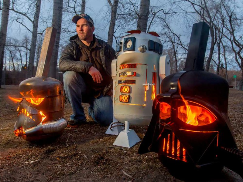 CalgaryCreativeWork Star Wars Fire Pits