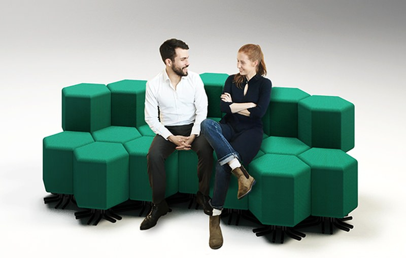 Carlo Ratti Associati Lift-Bit Sofa