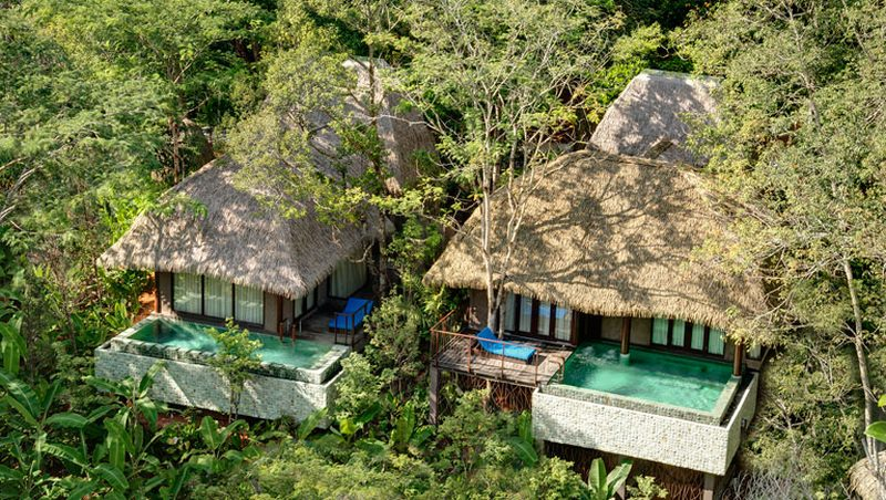Clay Pool Cottage from Keemala Resort