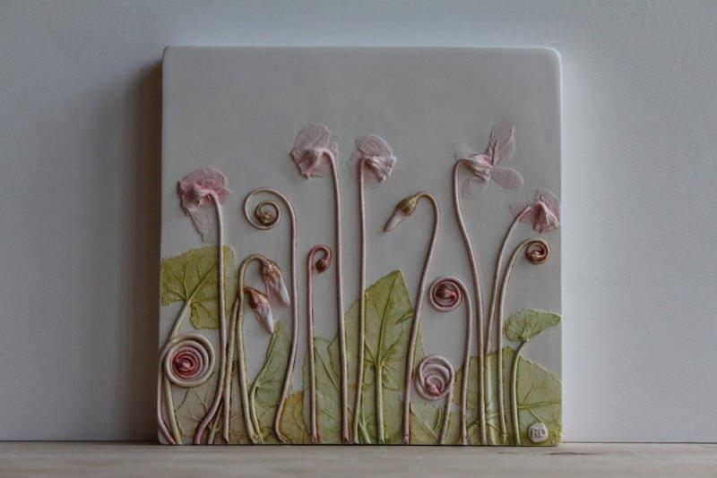 Plaster-cast tiles