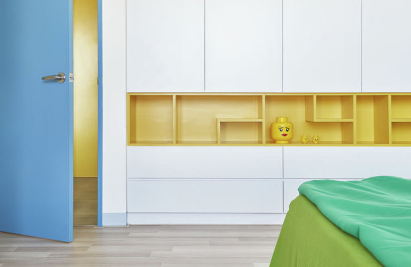 Lego-inspired Apartments