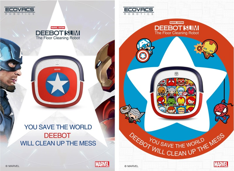 Marvel Edition Deebot Slim