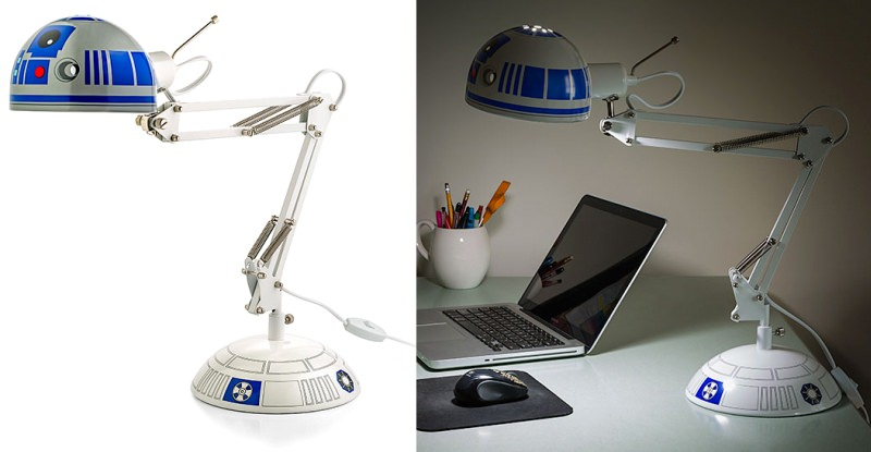 R2-D2 Architectural Desk Lamp