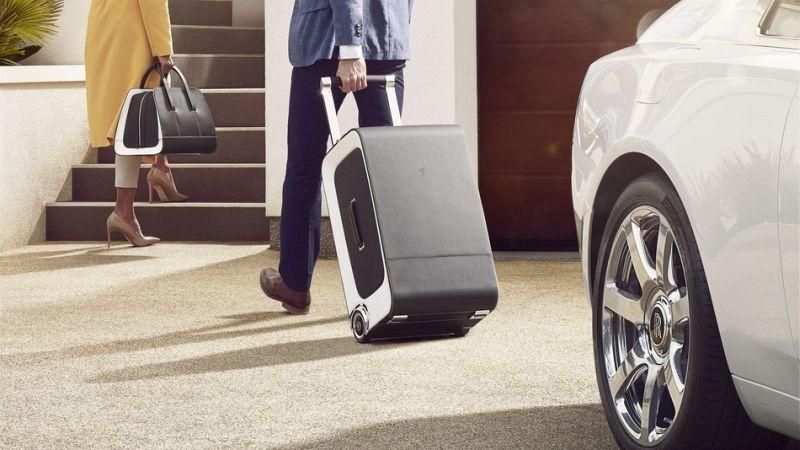 Rolls-Royce Luggage Set