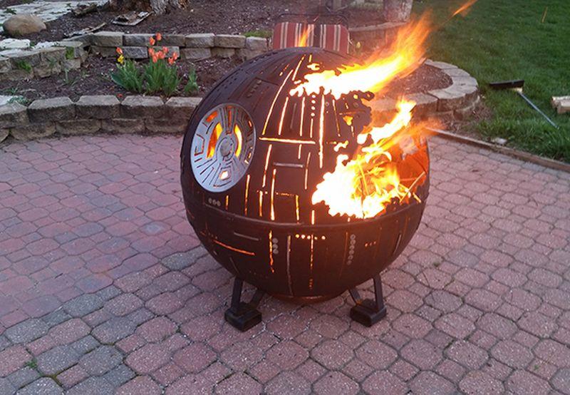Star Wars Death Star II Fire Pit