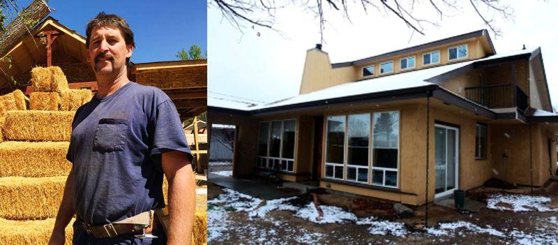 Straw Bale Home in East Boise