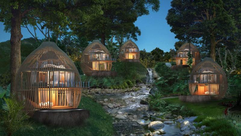 Tree Pool Houses from Keemala Resort
