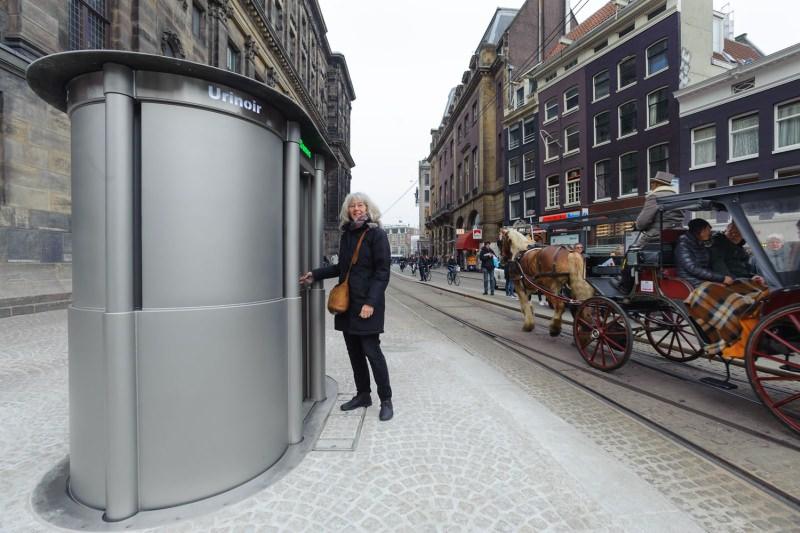 Urilift World's First Retractable Urinal