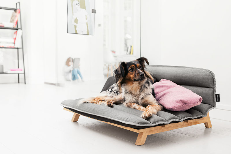 dog-bed by Mnomo