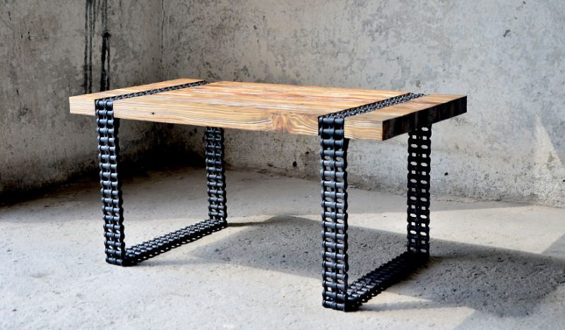 Chained Coffee Table by 4Rest