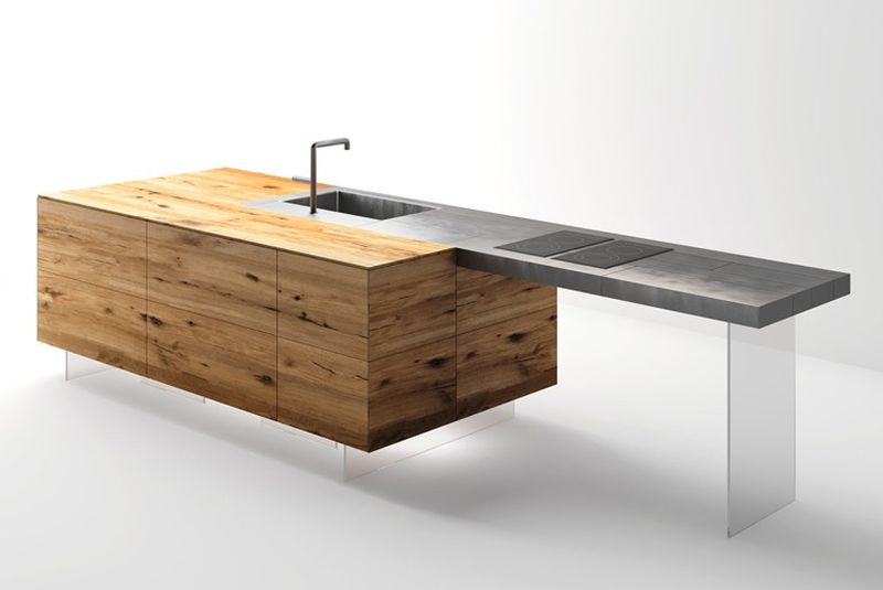 Steel+ Kitchen by Daniele Lago