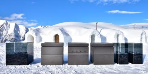 Steininger Rock Air outdoor kitchen