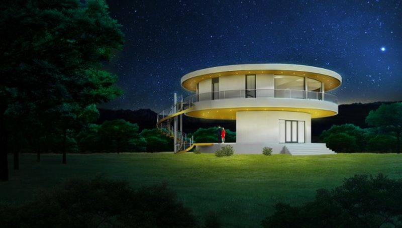 11 rotating homes that follow the sun to let the sunshine in