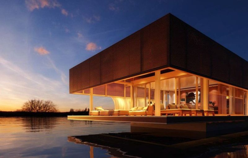 Abu Dhabi's solar-powered houseboats to escape sky-high rents