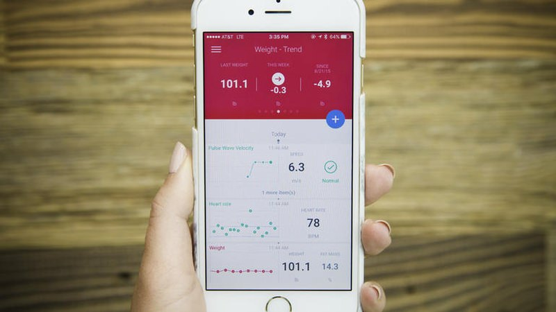 The Body Cardio Scale is compatible with Health Mate app