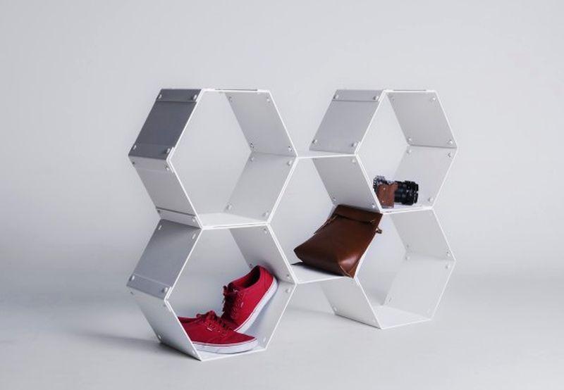 Graphite Modular Shelf