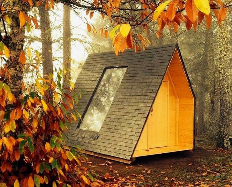 Rotating Eco-Cabin