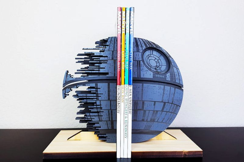 Star Wars Death Star Bookend