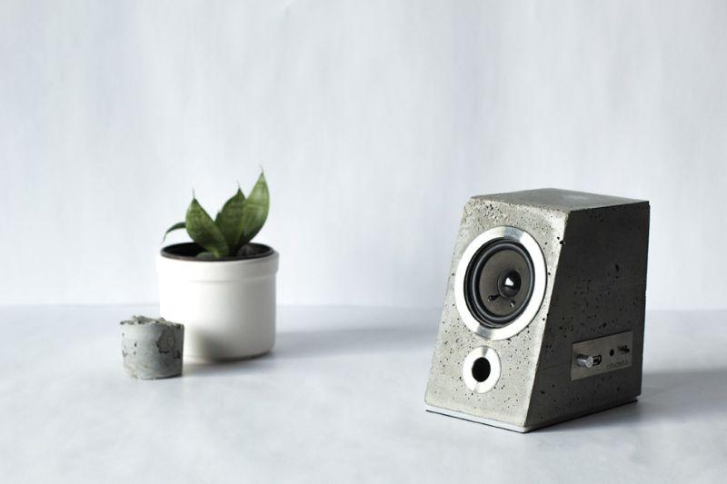 Concretus Speaker by Grazina -Bockute