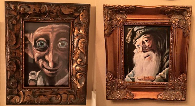 Creative paintings to hold the feel of the Hogwarts