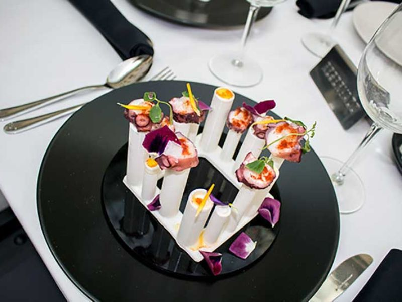 Food Ink. World's First 3D Printing Restaurant