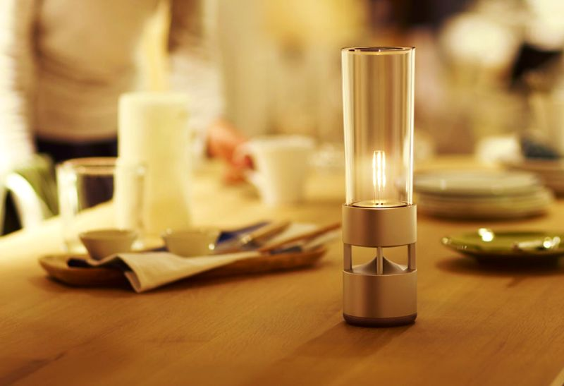 Soft LED light with amazing sound for a romantic candle light dinner