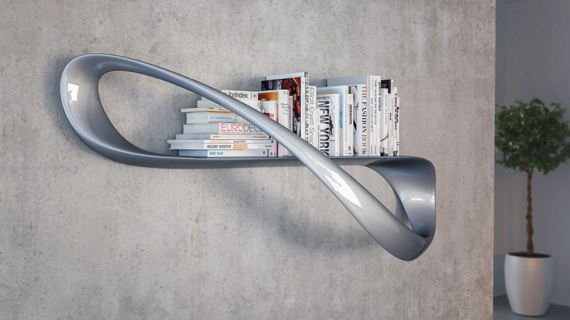 Lemniskata shelf by Nuvist