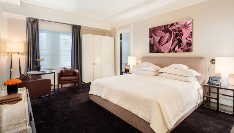 Five comfortable bedrooms for your ease