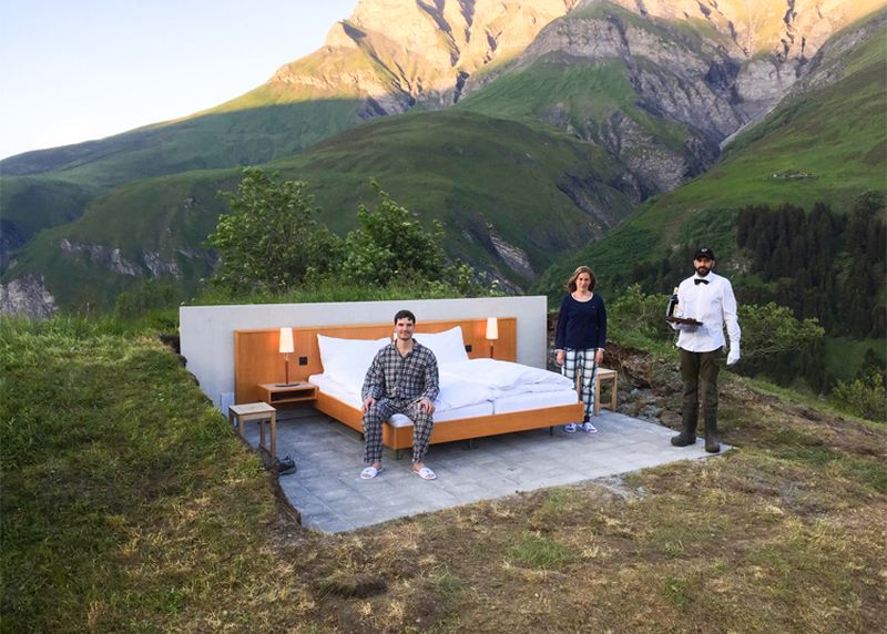Open Air Hotel by Null Stern
