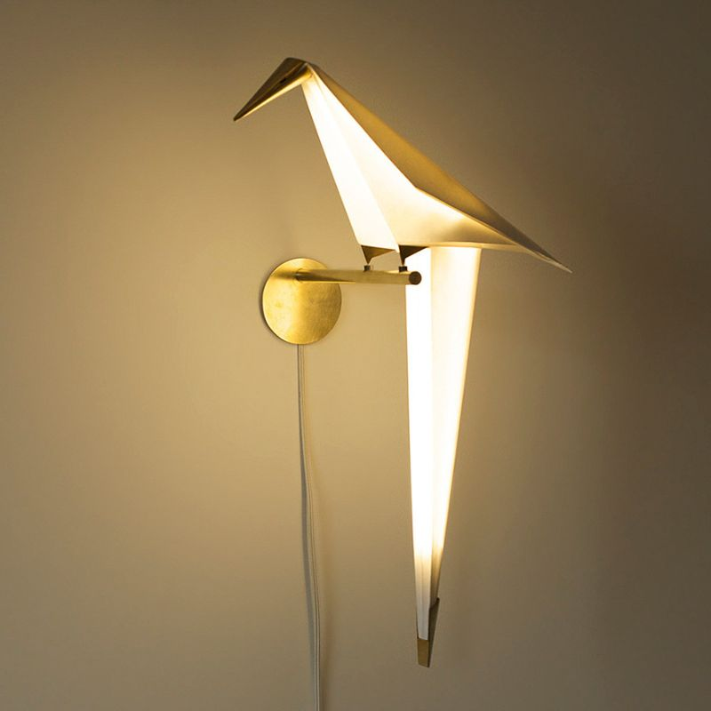 Wall-mounted Origami Perch light family designed for Moooi