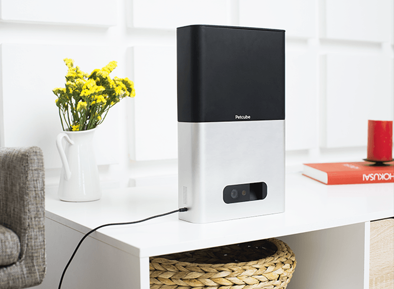 The Petcube Bites feeds your pets on demand or automatically