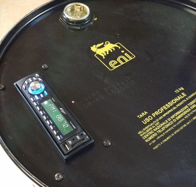 RElettronica Radio Stereo Drum