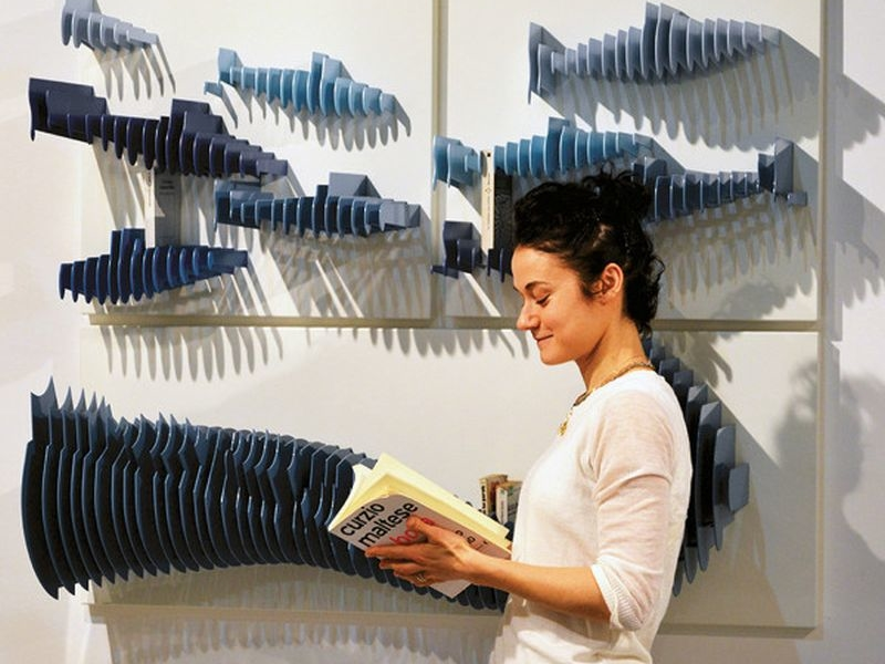 Slices Bookshelf by Alessandra Meacci