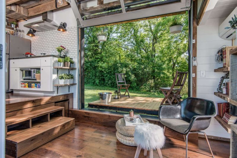 The Alpha tiny home serves utmost in luxury with multi-functional details_4