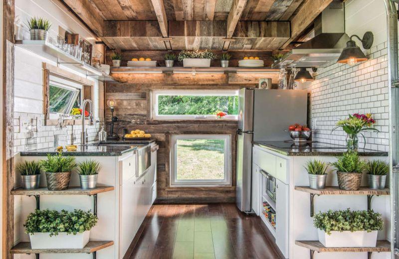 Hard wood flooring and custom cabinets