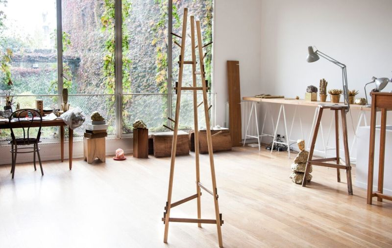 Present the coat rack like a centerpiece in any room