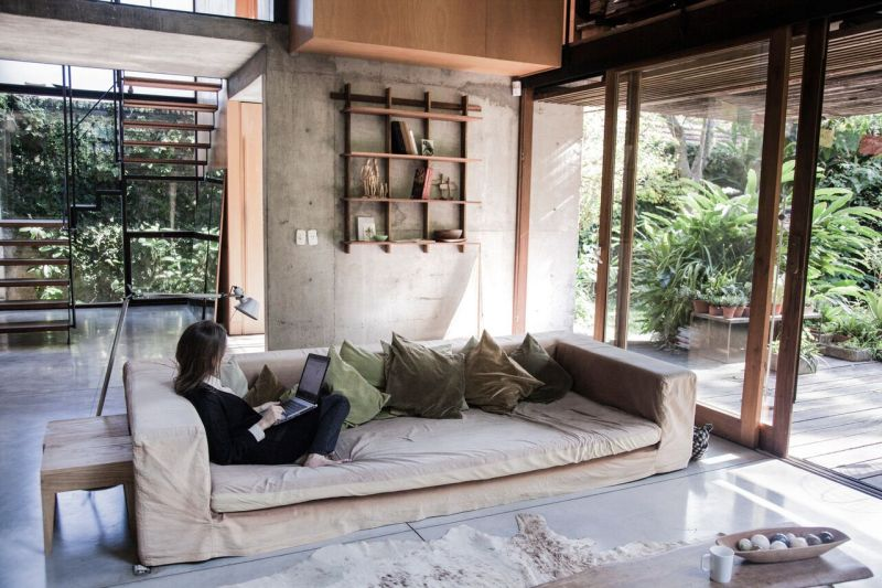 Sticotti Bookshelf handcrafted from the certified Petiribi woods