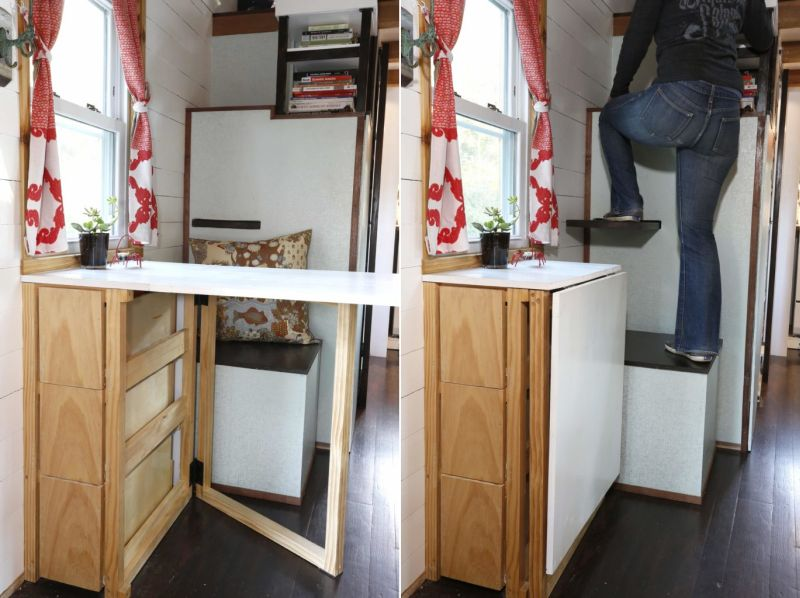 Christian Parsons and Alexis Stephens' most traveled tiny house in the world