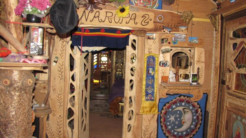 Inside view of the Treehouse