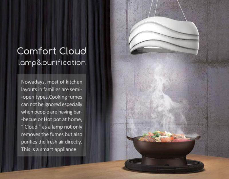 Comfort Cloud Lamp