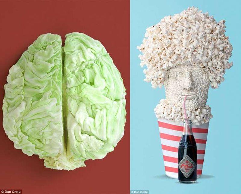 Dan Cretu Food Art
